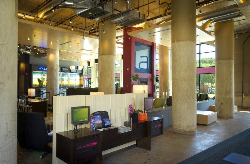 Aloft Dallas Downtown Lounge/Empfang