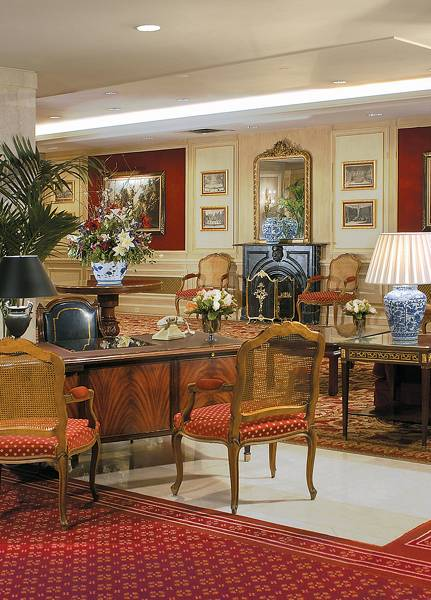 The Langham Boston Lounge/Empfang