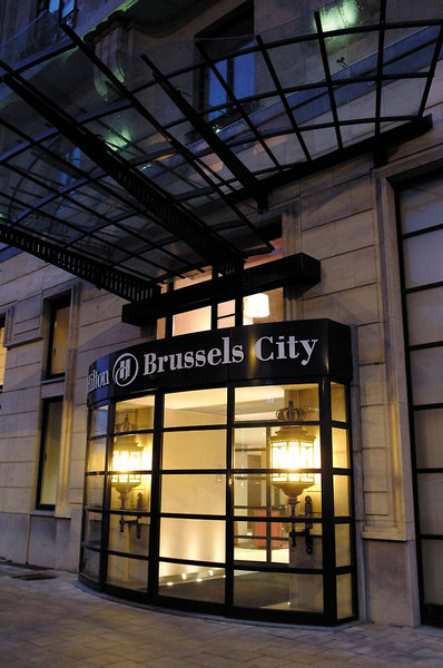 Hilton Brüssel City Außenaufnahme