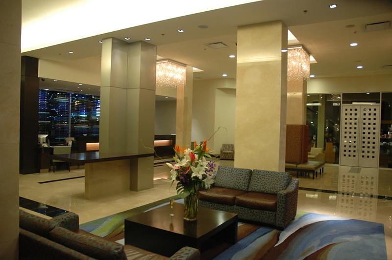 Century Plaza & Spa Lounge/Empfang