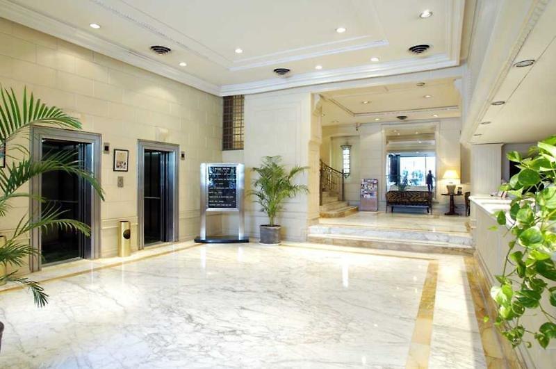 Exe Hotel Colon Lounge/Empfang