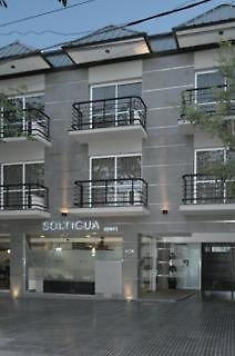 Soltigua Apart Hotel Mendoza Außenaufnahme