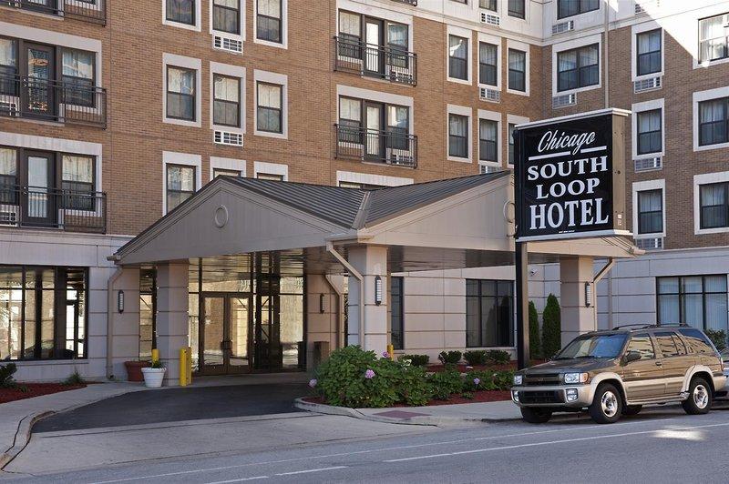 Chicago South Loop Hotel Außenaufnahme