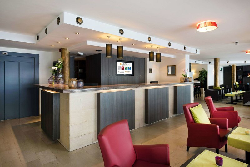 Quality Hotel Antwerpen Centrum  Lounge/Empfang