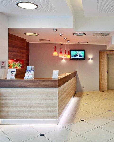 Best Western Hotel Poleczki Lounge/Empfang