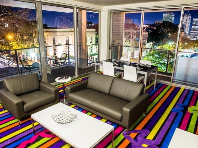 Adge Apartment Hotel Wohnbeispiel