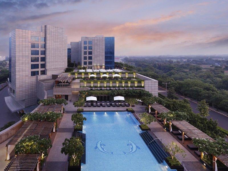 The Leela Ambience Gurgaon Hotel & Residences Außenaufnahme