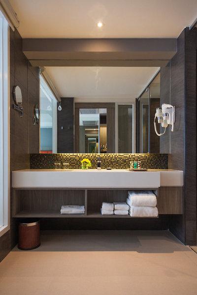 Grand 5 Hotel & Plaza Sukhumvit Bangkok Badezimmer