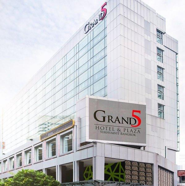 Grand 5 Hotel & Plaza Sukhumvit Bangkok Außenaufnahme