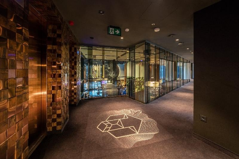 Hotel Clark Lounge/Empfang