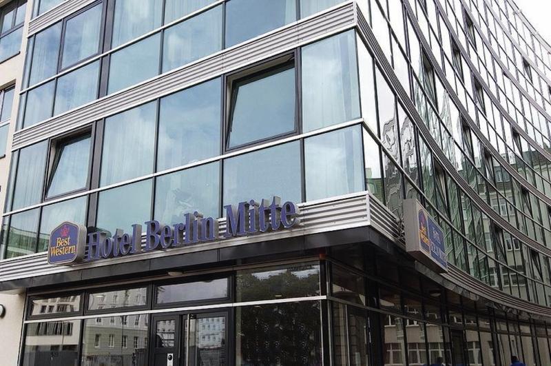 Best Western Hotel Berlin MitteAuߟenaufnahme