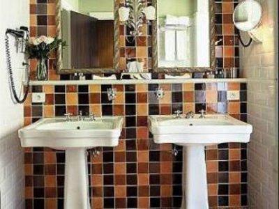 Hotel Die Swaene Badezimmer