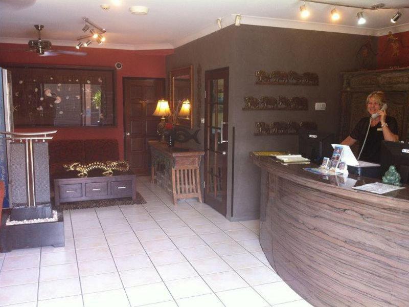 Bohemia Resort Cairns Lounge/Empfang