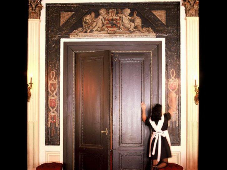 Hotel Die Swaene Lounge/Empfang