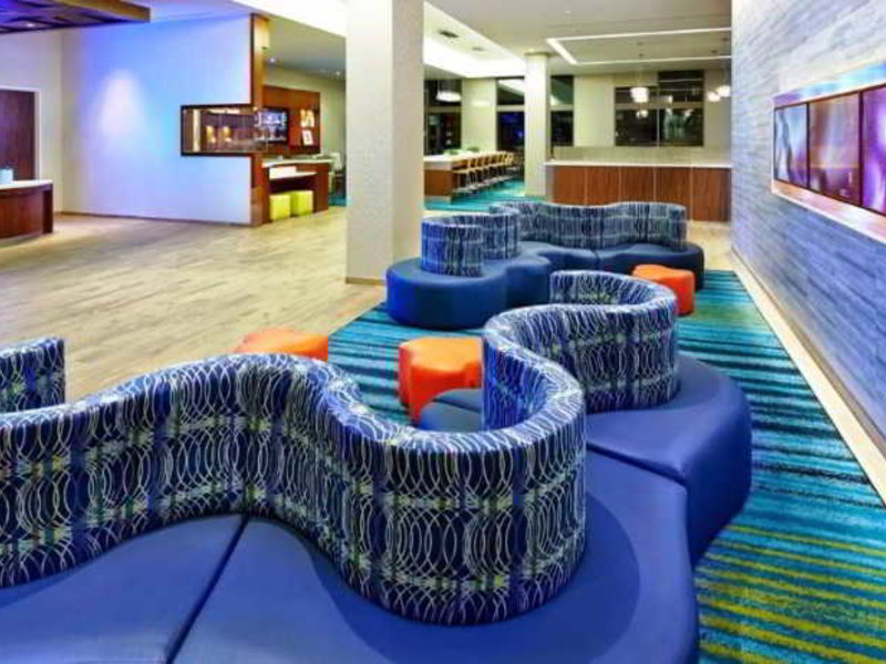 SpringHill Suites at Anaheim Resort - Convention Center Lounge/Empfang