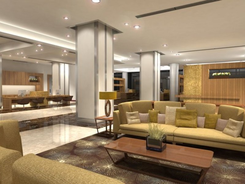 Le Meridien Cairo Airport Lounge/Empfang