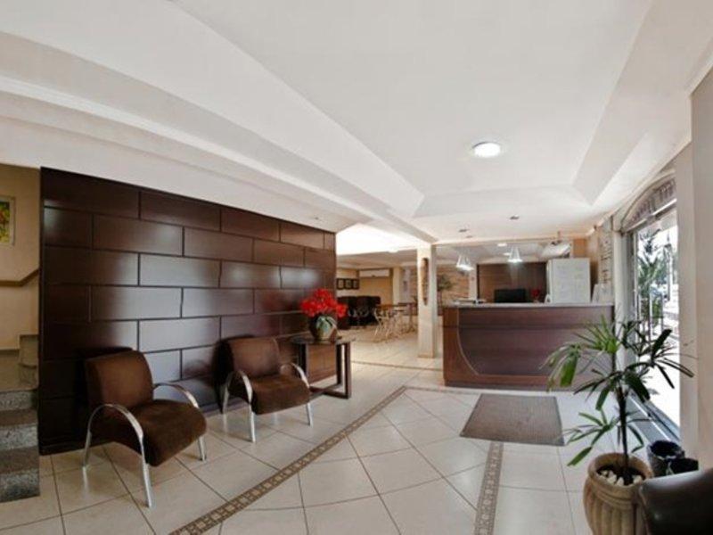 Hotel Villa Canoas Lounge/Empfang