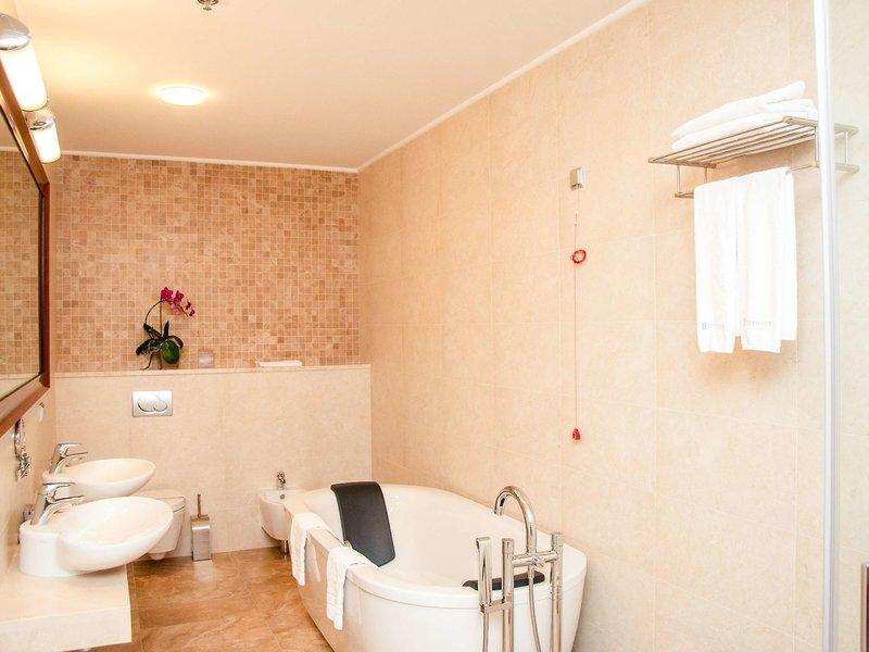 Cityhotel Kiew Badezimmer