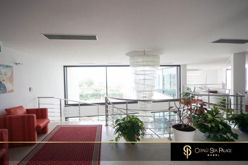 Cefalu Sea Palace Lounge/Empfang