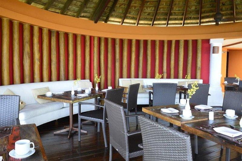 Pestana Bahia Lodge Terrasse