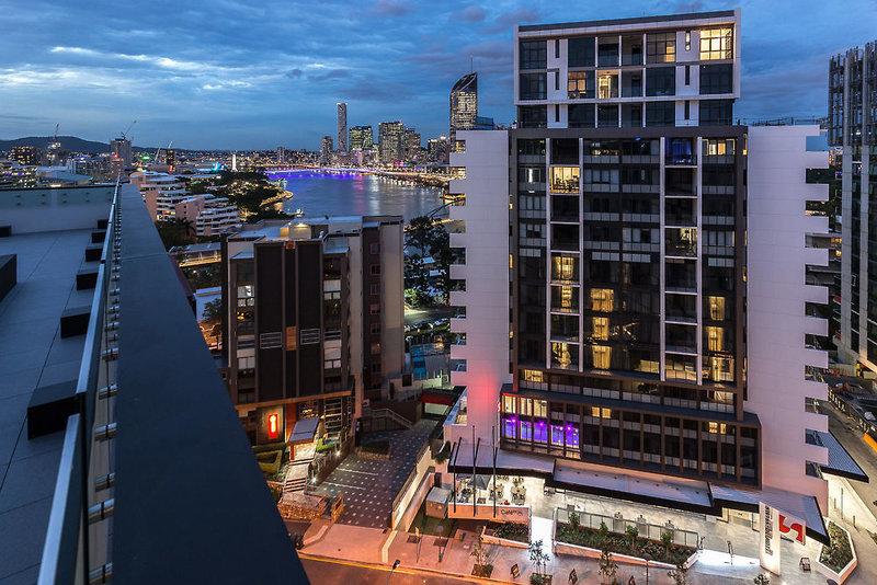 Swiss-Belhotel Brisbane Außenaufnahme