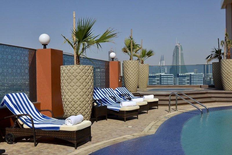 Ramada Manama City Centre Terrasse