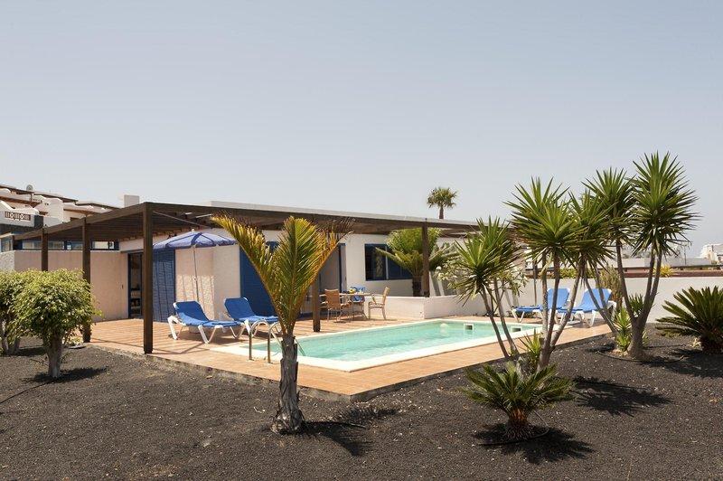 Villas Las Marinas Garten