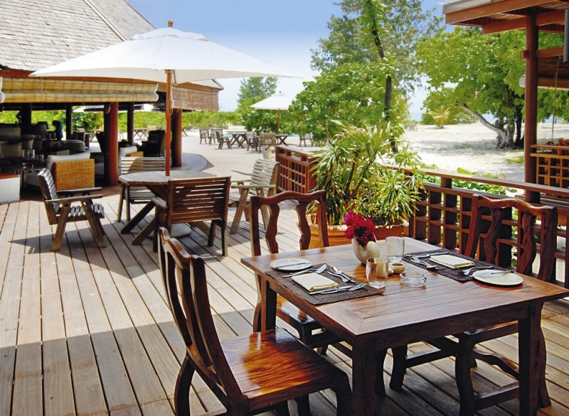 Denis Private IslandRestaurant