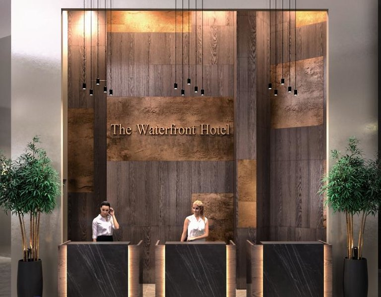 The WaterfrontLounge/Empfang