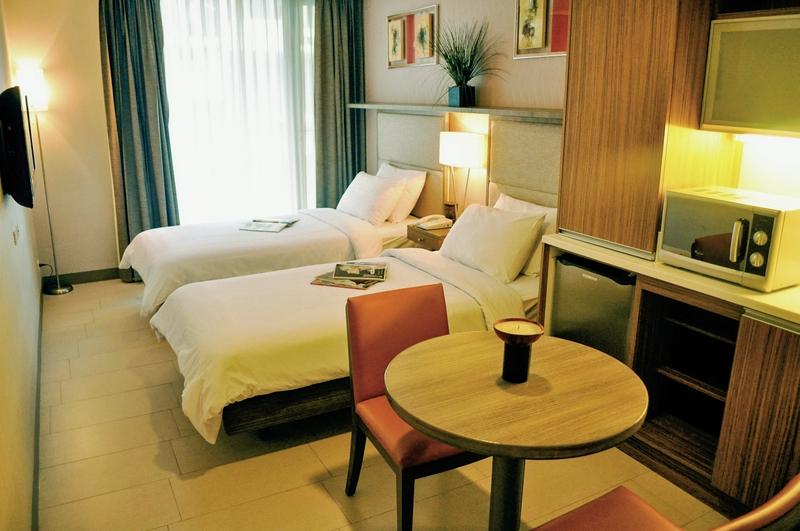 The A Venue Hotel  Wohnbeispiel
