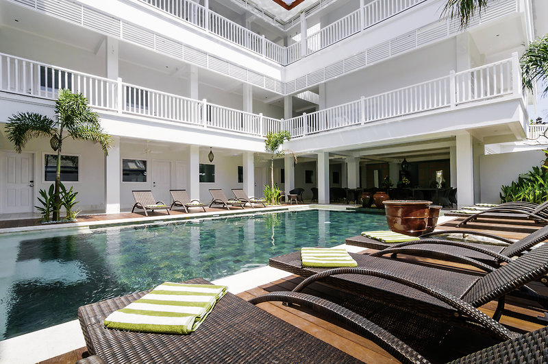 Samsara Inn Hotel Hallenbad
