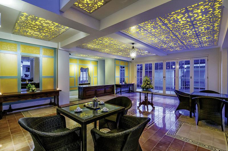 Samsara Inn Hotel Lounge/Empfang
