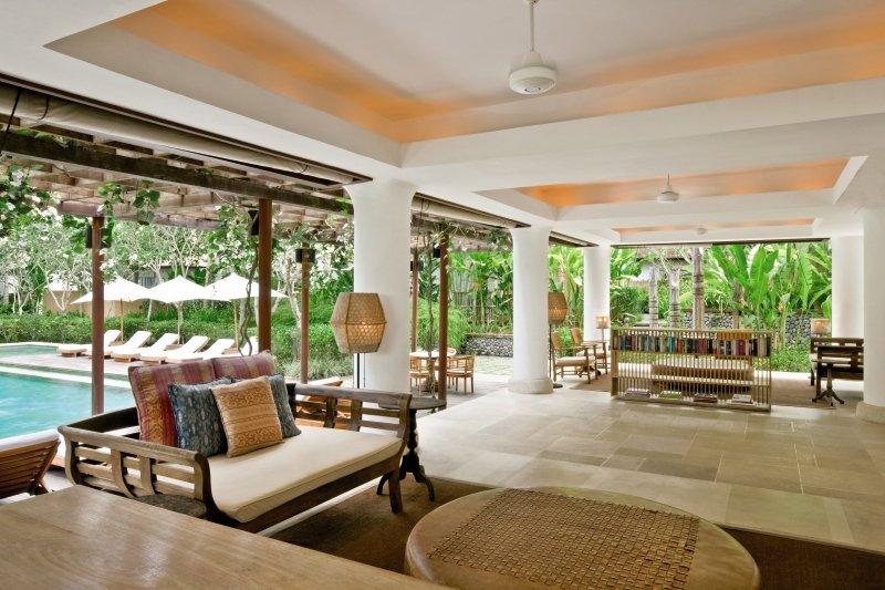 Uma by COMO, Ubud Lounge/Empfang