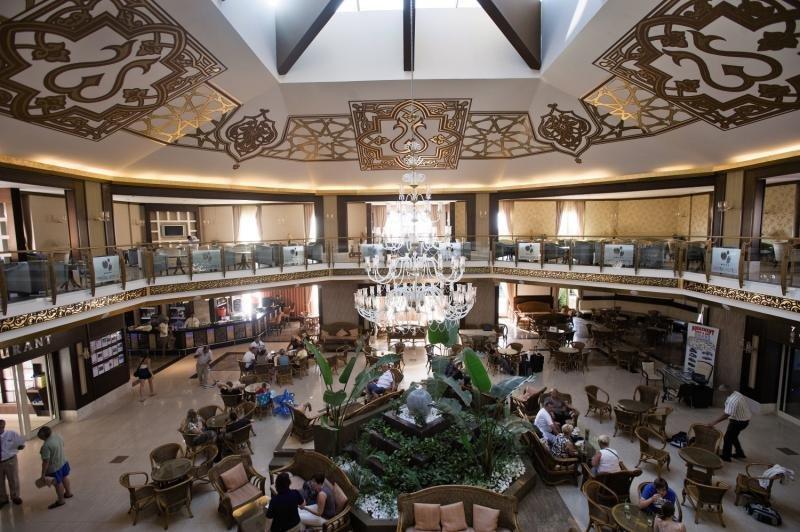 Crystal Paraiso Verde Resort & Spa Lounge/Empfang