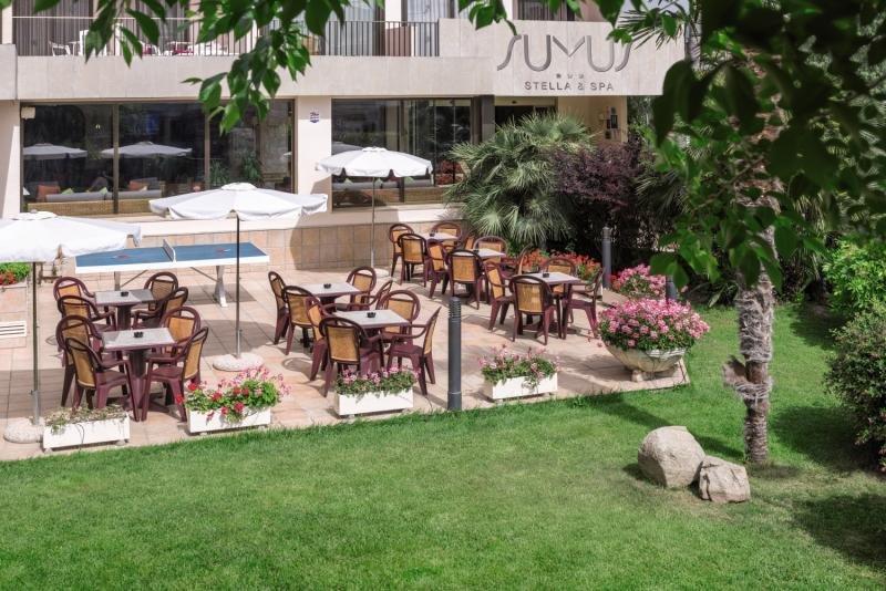 Sumus Hotel Stella & Spa Terrasse