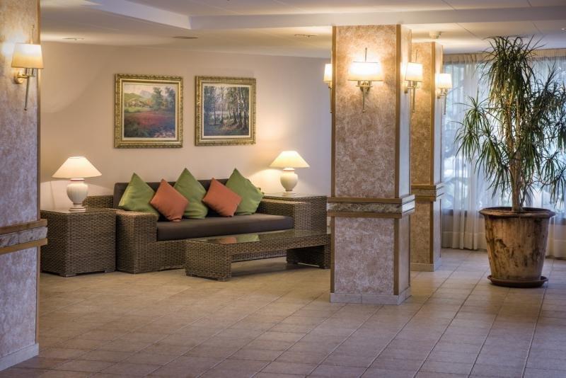 Sumus Hotel Stella & Spa Lounge/Empfang