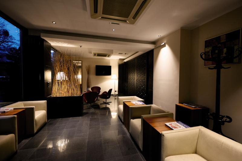 Pakat City Hotel  Lounge/Empfang