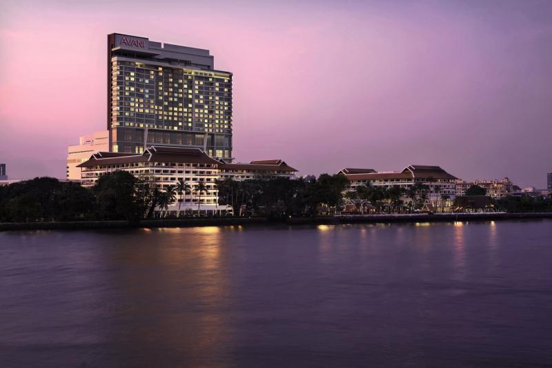 Anantara Riverside Bangkok Resort Außenaufnahme