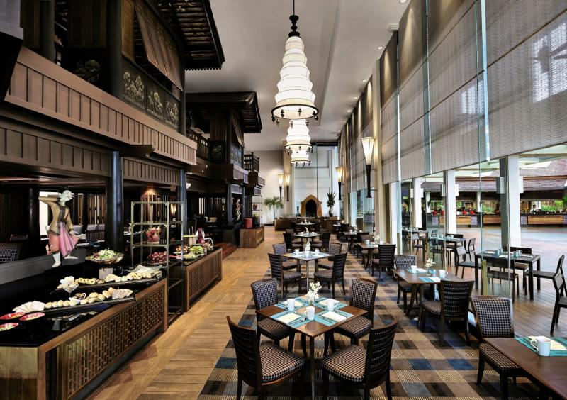 Anantara Riverside Bangkok Resort Lounge/Empfang