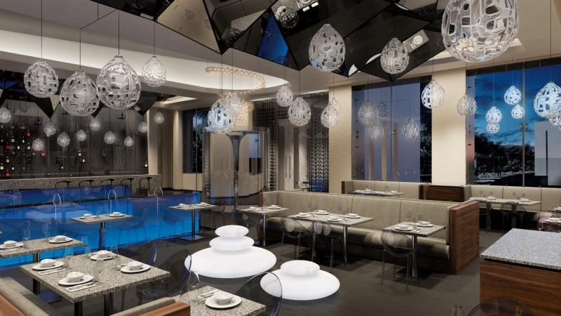 Hotel Xcaret Mexico Hallenbad