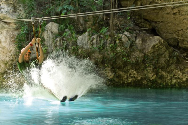 Hotel Xcaret Mexico Tiere