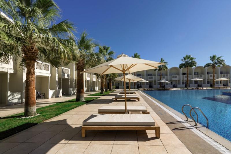 Reef Oasis Beach Resort Terrasse