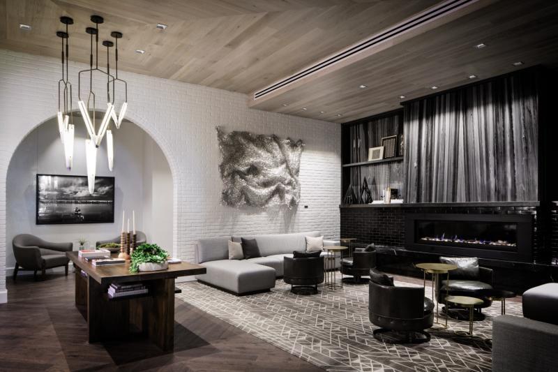 Halcyon Hotel Cherry Creek Lounge/Empfang