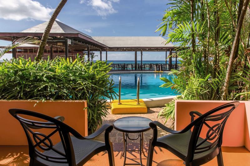 Barbados Beach Club Terrasse