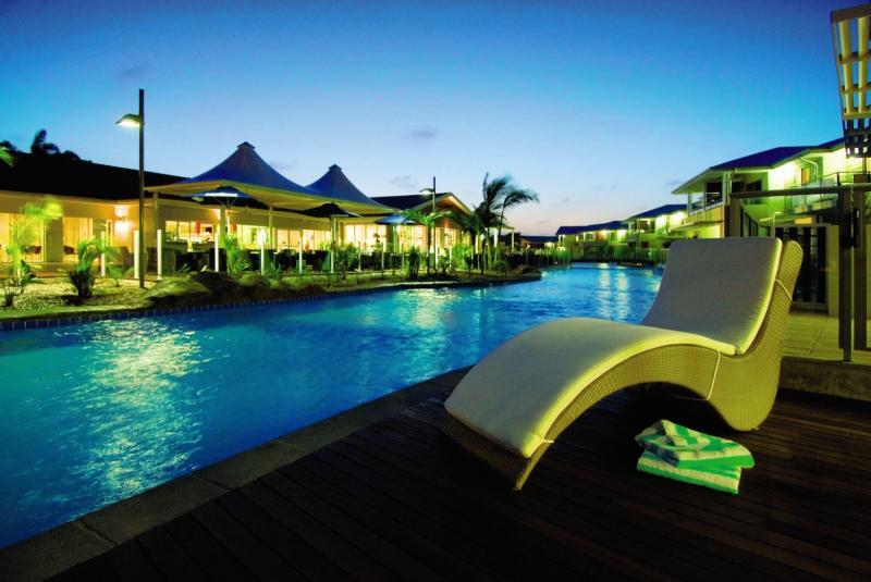 Oaks Pacific Blue Resort Pool