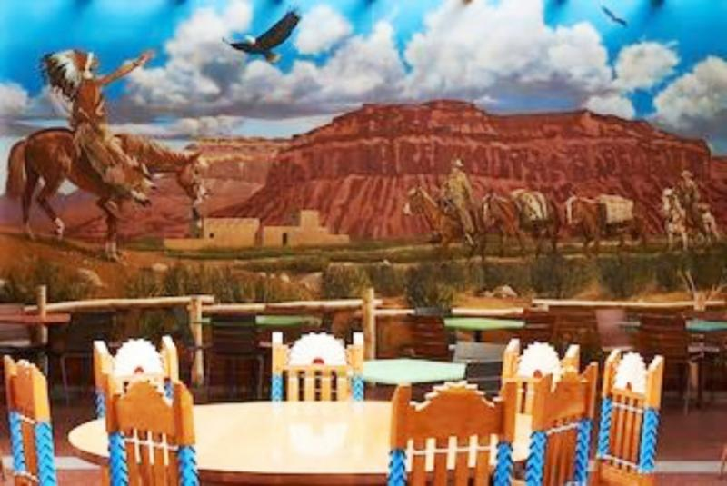 Disney´s Santa Fe Restaurant