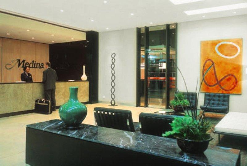 Adina Apartment Hotel Melbourne Lounge/Empfang