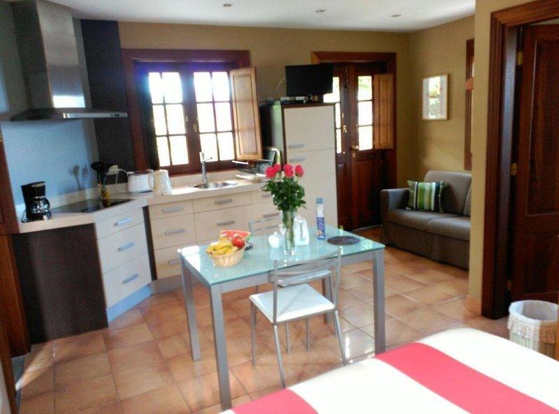 Casa Las Barrandas Lounge/Empfang