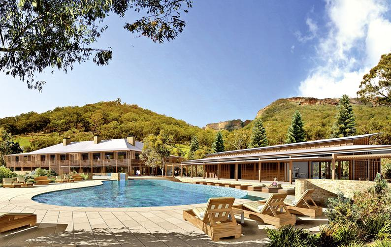 Emirates One & Only Wolgan Valley Resort & Spa Pool