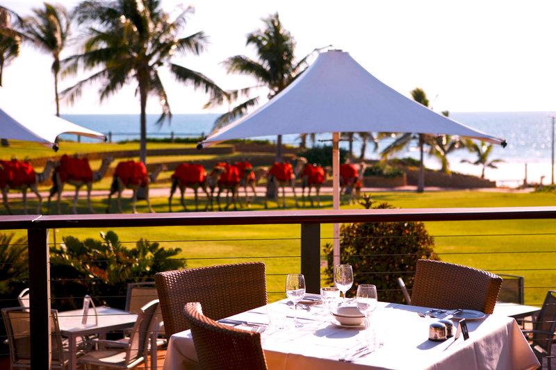 Cable Beach Club Resort Terrasse